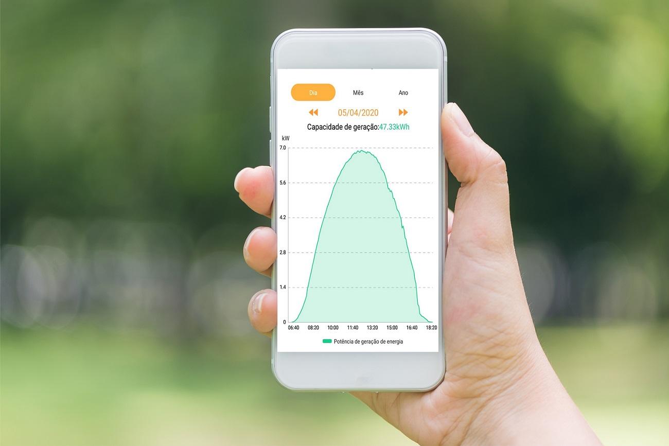 Monitoramento do sistema fotovoltaico - Elysia energia solar RS