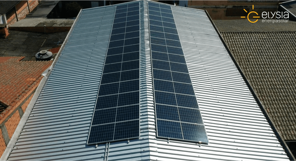 Energia solar comercial Canoas
