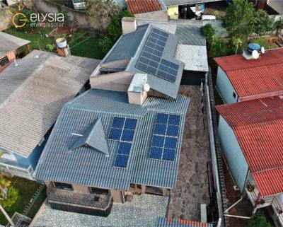 Sistema fotovoltaica Sapiranga - Elysia energia solar Rio Grande do Sul