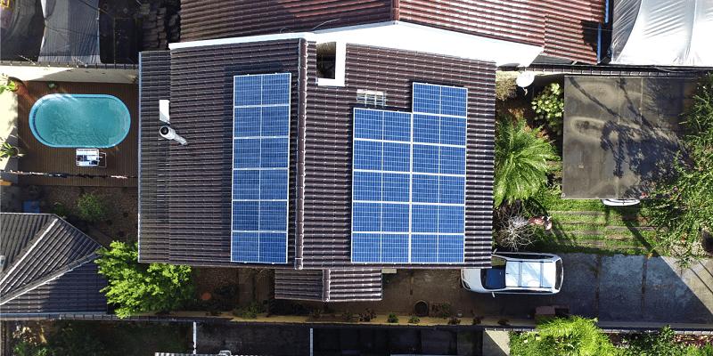 Residência com energia solar - Elysia sistema fotovoltaico RS