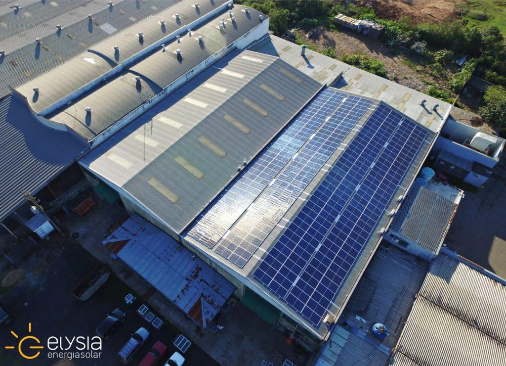Empresa com energia solar - Elysia sistema fotovoltaico comercial Porto Alegre