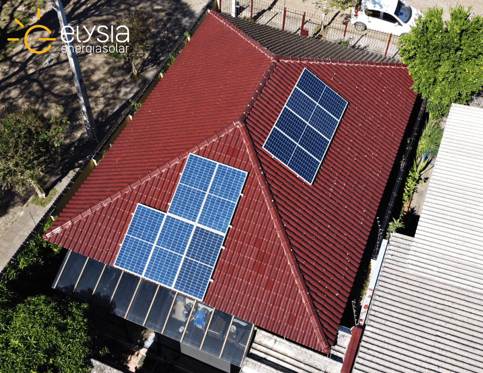 Energia fotovoltaica na cidade de Porto Alegre