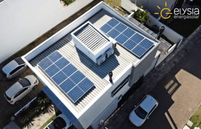 Sistema fotovoltaico em POA - Elysia energia solar RS