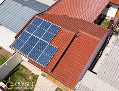 Sistema fotovoltaico residencial em Porto Alegre - Elysia energia solar POA