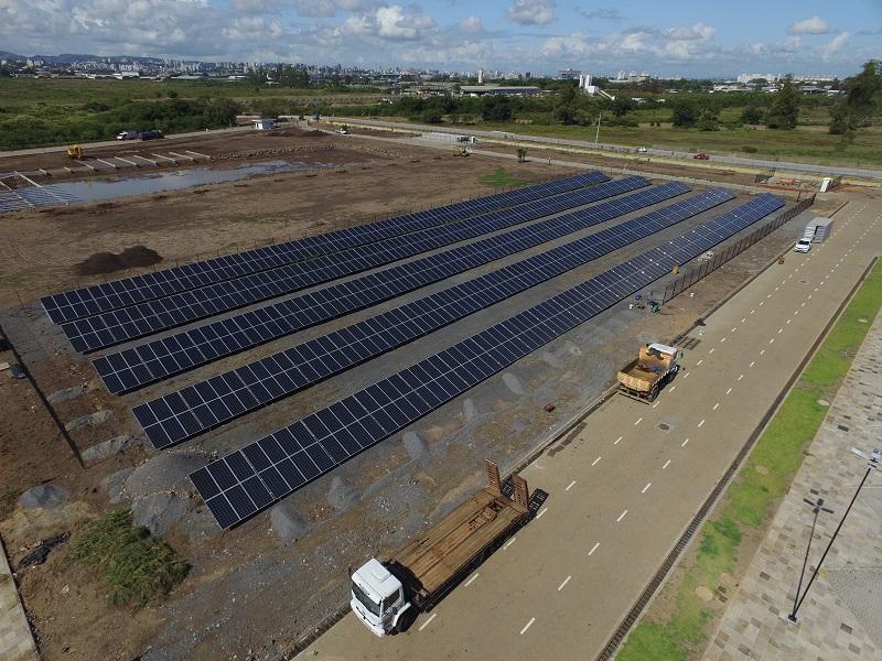 Usina solar Fecomércio - Elysia energia fotovoltaica Rio Grande do Sul