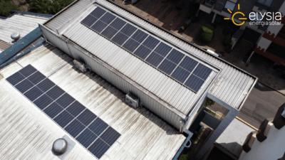 Energia solar em academia de São Leopoldo - Elysia sistema fotovoltaico RS