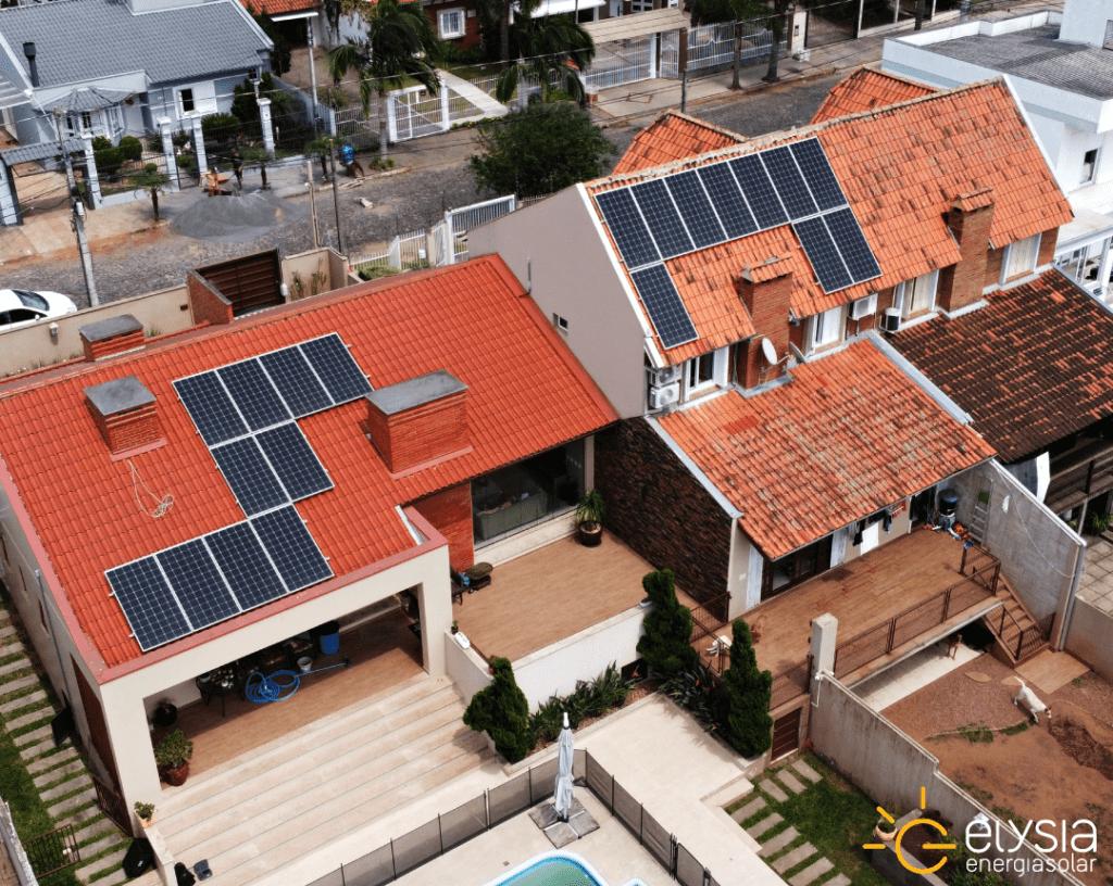 Sistema fotovoltaico residencial São Leopoldo