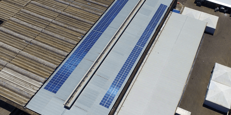 Energia solar em fábricas - Elysia sistema fotovoltaico Rio Grande do Sul