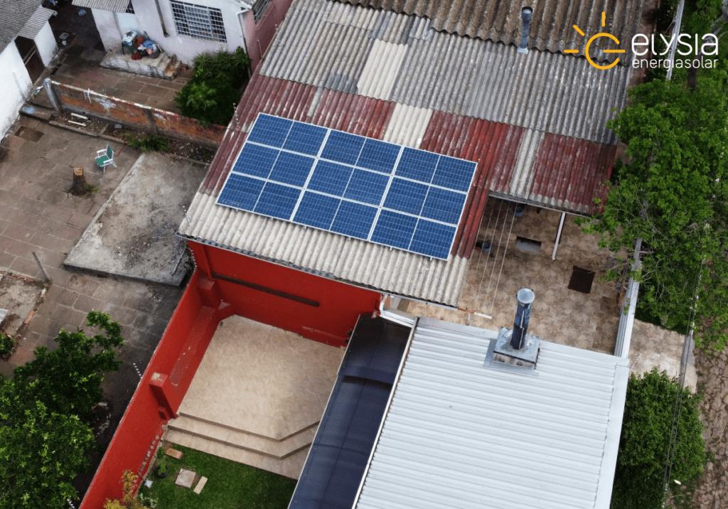 Sistema de energia solar Viamão