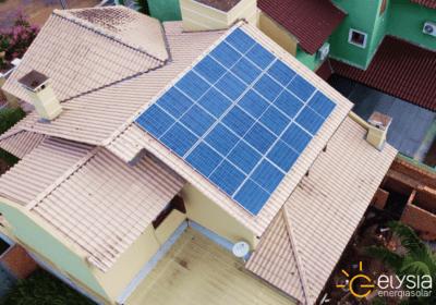 Sistema energia solar São jerônimo - Elysia energia limpa Rio Grande do Sul