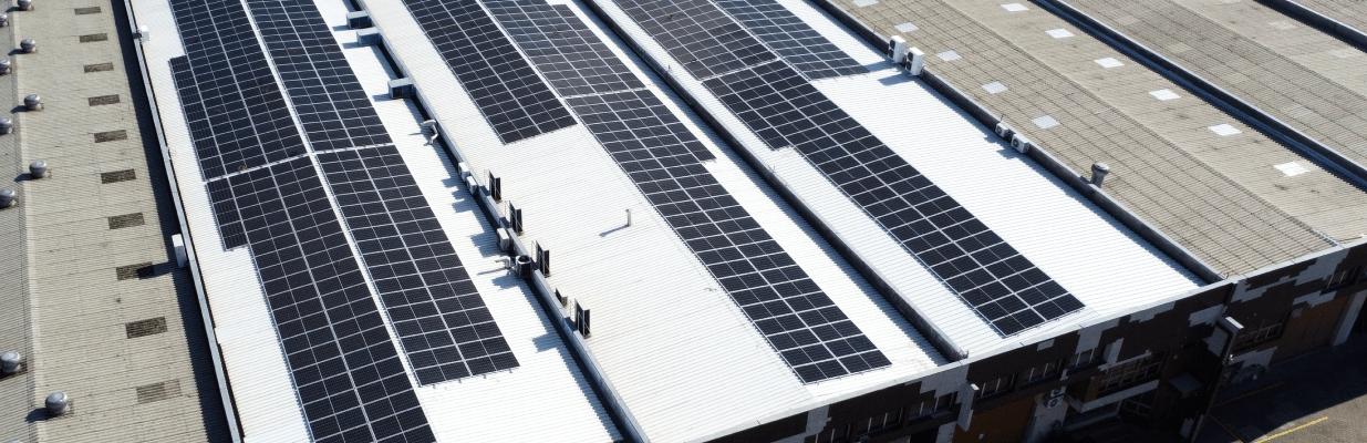 Energia solar em grandes fábricas - Elysia sistema fotovoltaico Rio Grande do Sul