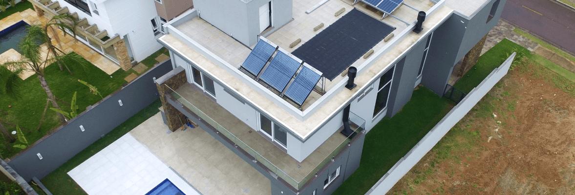 Residência com energia solar Porto Alegre - Elysia sistema fotovoltaico