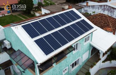 Imóvel de Santo Antônio da Patrulha com energia solar - Elysia sistema fotovoltaico Brasil