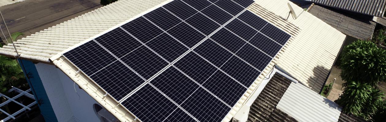 Energia solar clínica veterinária São leopoldo - Energia fotovoltaica Elysia Vale dos Sinos