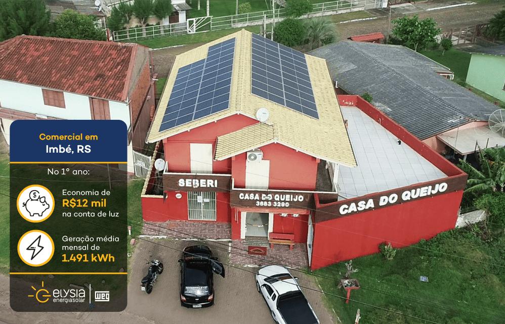 Energia solar Imbé - Elysia Energia fotovoltaica litoral norte Rio Grande do Sul