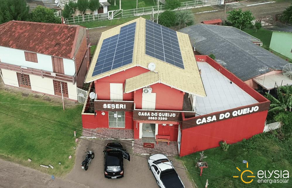 Energia solar em Imbé - Elysia sistema fotovoltaico RS