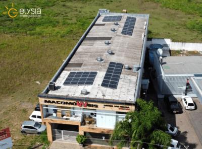 Energia solar empresa - Elysia sistema fotovoltaica Grande Porto Alegre