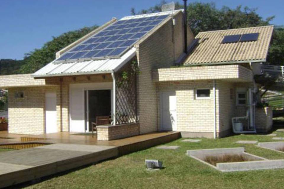 Casa eficiência energética - Elysia energia solar Rio Grande do Sul