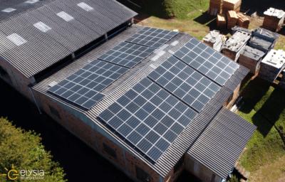 Energia solar em fabricante de móveis em Gravataí - Elysia sistema fotovoltaico RS
