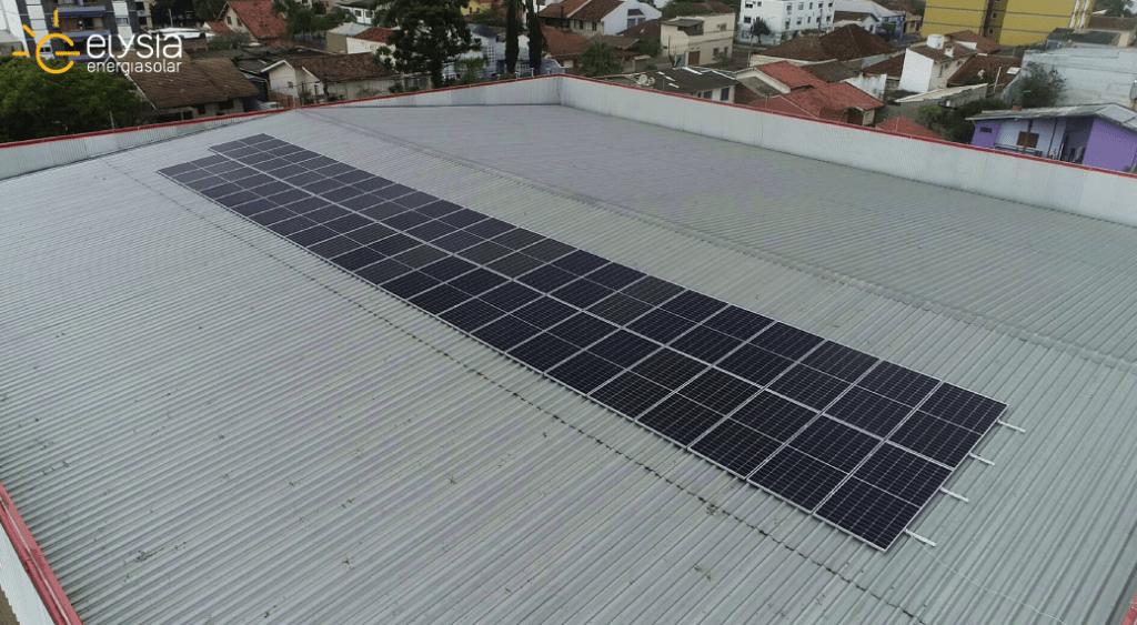 Energia solar comercial São Leopoldo
